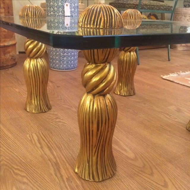 Phyllis Morris Tassel Cocktail Table - Image 7 of 8