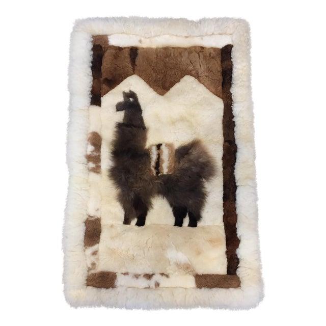 Llama Fur Rug 2 1 Quot X 3 4 Quot Chairish
