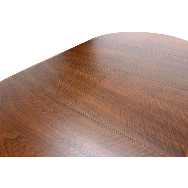 Rosengren Hansen Round Walnut Dining Table - Image 8 of 9