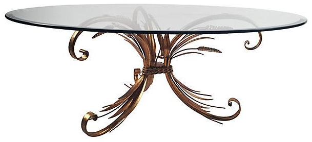 sheaf of wheat cocktail table