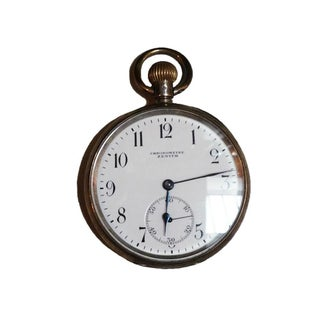 Vintage Chronometre Zenith Pocket Watch