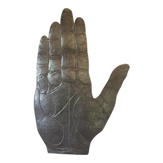 Palmistry Hand Large Wall Hanging