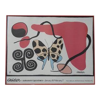 Mid 20th C. Alexander Calder Lithograph