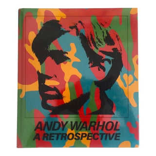 """Andy Warhol a Retrospective"" Rare 1st Edition 1989 MoMA Exhbtn Collector's Art Book"