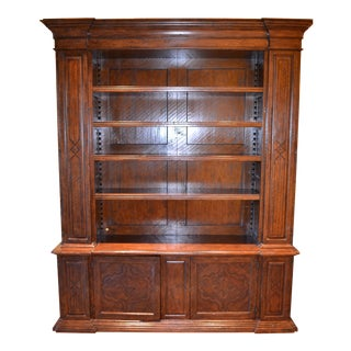 Pine & Laurel Wood Bookcase