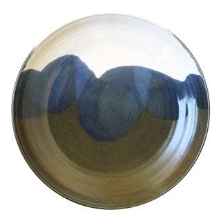 Mid-Century Studio Pottery Bowl Serving Platter