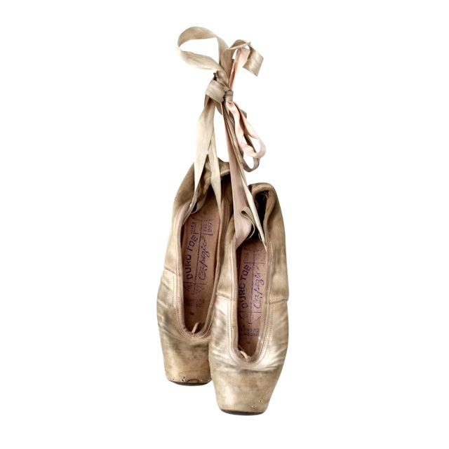 Vintage Capezio Duro Toe Ballet Slippers - A pair - Image 1 of 7