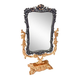French Provincial Adjustable Mirror