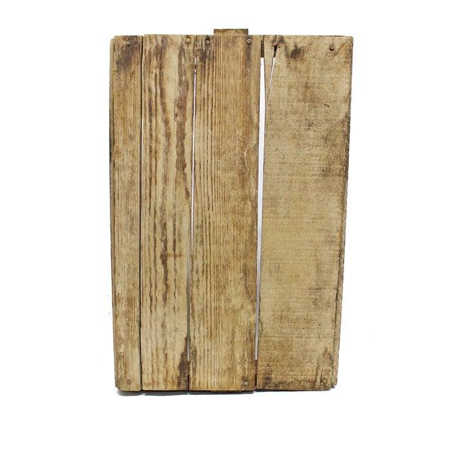 Rustic Wood Handled Pannier - Image 4 of 4
