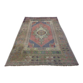 "Turkish Oushak Rug - 4'6"" X 7'7"""