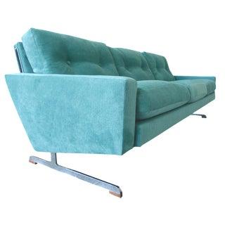 Johannes Andersen Teal Danish Modern Sofa