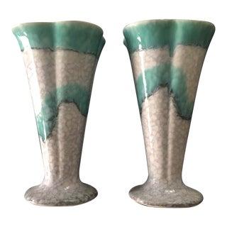 Ditmar Urbach Porcelain Vases - A Pair