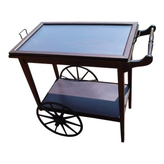 Vintage Wooden Tea/Bar Cart