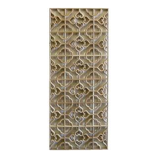 Wood Geometric Wall Panel