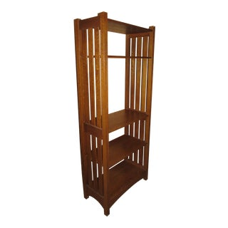 Stickley Arts Crafts Oak Bookcase