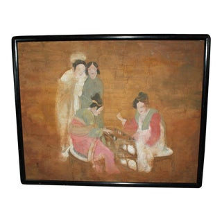 Chinese Painting on Board