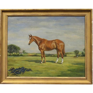 Early Equine Portrait by Jean Bowman