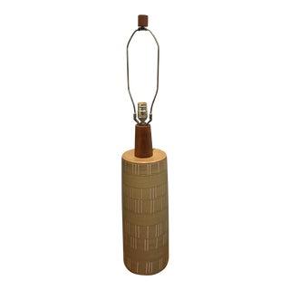 Martz Mid-Century Modern Ceramic Lamp