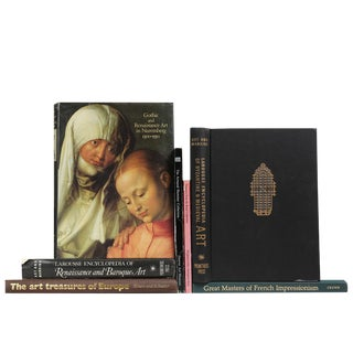 Vintage Masterworks of European Painting Art Books- Set of 7