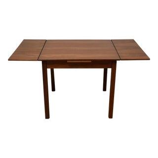 Danish Teak Petite Draw Leaf Dining Table