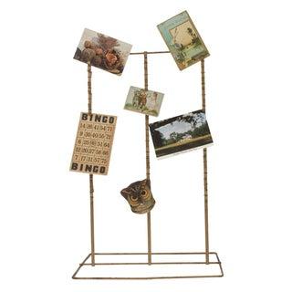 Industrial Photo Display Rack