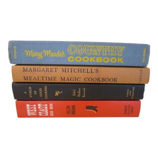 Vintage Mid-Century Cookbooks Collection - Set of 4