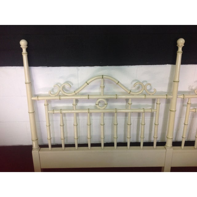 Faux Bamboo Headboard By Drexel - King Size - Image 3 of 6