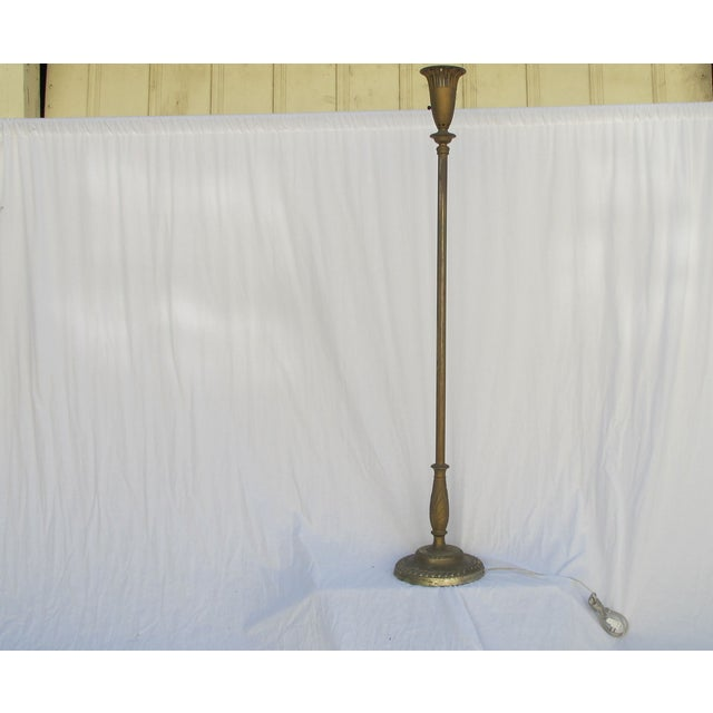Antique 1920s Torch Floor Lamp - Image 3 of 7