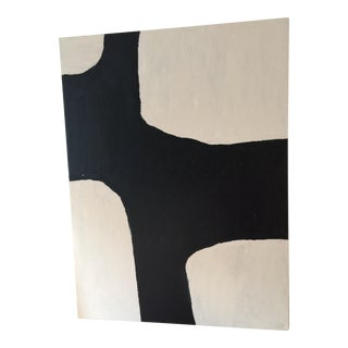 Black Out Minimalist Painting