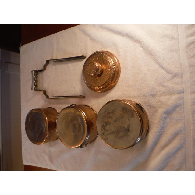 """Vintage Copper Clad """"Tiffin"""" or """"Dabba"""" - Image 6 of 9"""
