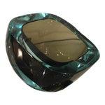 Image of Vintage Murano Italian Art Glass Ashtray