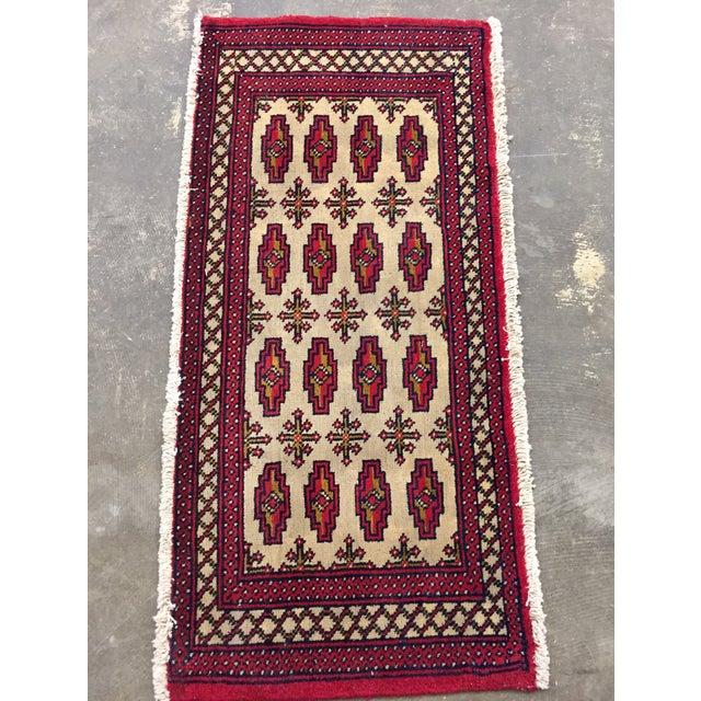 "Turkaman Persian Handmade Rug - 1'8"" x 3'5"" - Image 2 of 9"