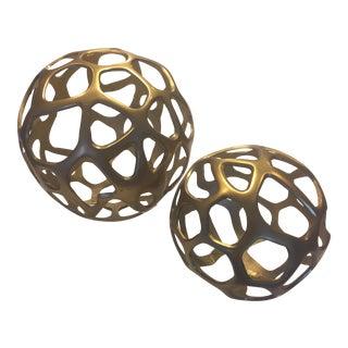 Arteriors Ennis Spheres - A Pair