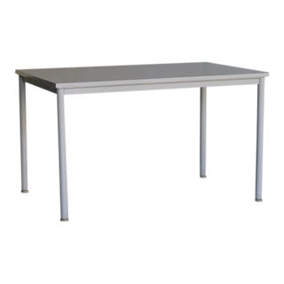 Steel and wood desk/table by Le Corbusier