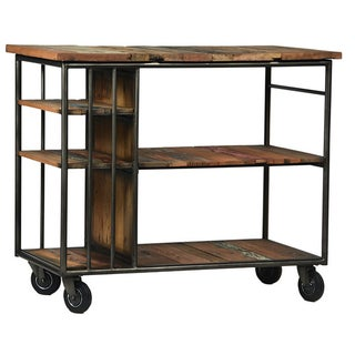 Industrial Shelving Tiered Trolly