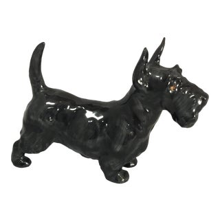 Royal Doulton Black Scottie Dog Figurine