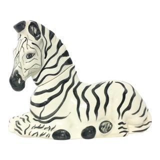 Vintage Ceramic Zebra