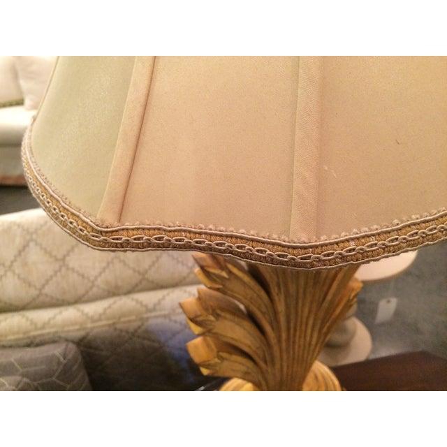 Image of Gold Leaf Wildwood Lamp
