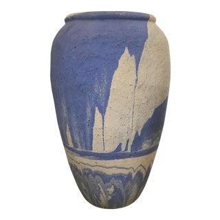 Vintage Periwinkle Pottery Vase