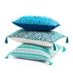 Image of Guatemalan Turquoise Pillow