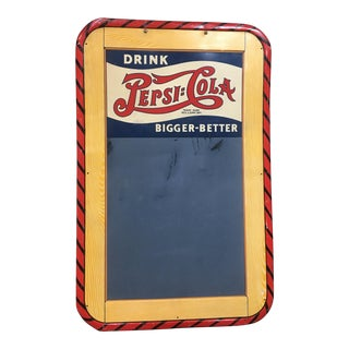 Pepsi Cola Soda Shop Chalkboard Menu Sign