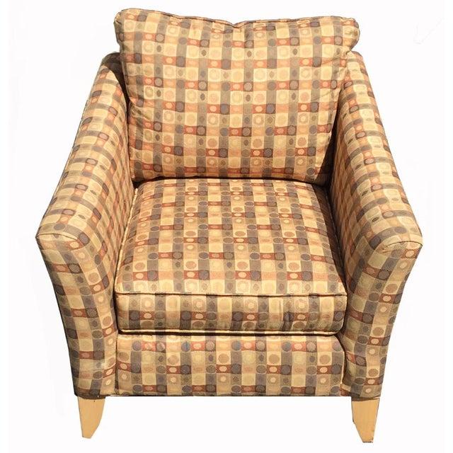 Beige & Brown Craft Master Club Chair - Image 2 of 6