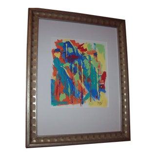"""Coloropolis Ii"" Original Abstract Painting by Dawn Walling"