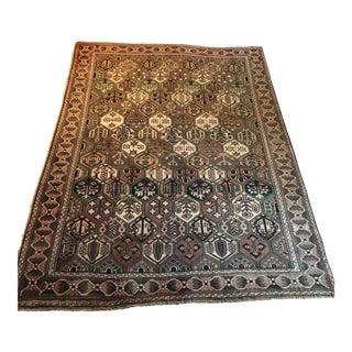 "Old Persian Serapi Rug - 6'6"" x 9'5"""