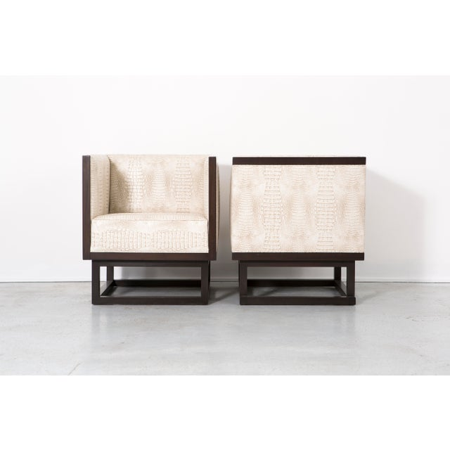 Set of Cabinett Lounge Chairs - Image 4 of 9
