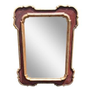 Vintage Paul Ferrante Carved Italian Designer Mirror