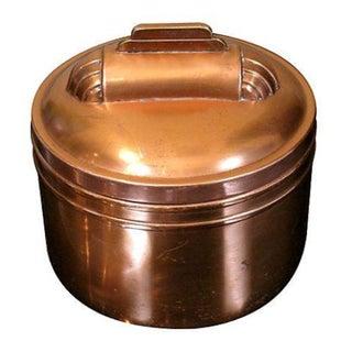 Art Deco Copper Humidor