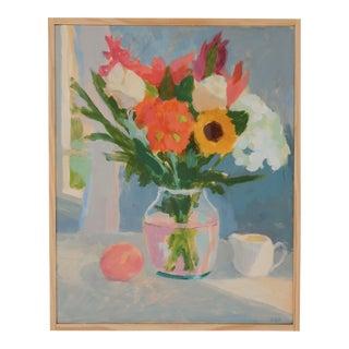 Anne Carrozza Remick Bouquet Plein Air Painting