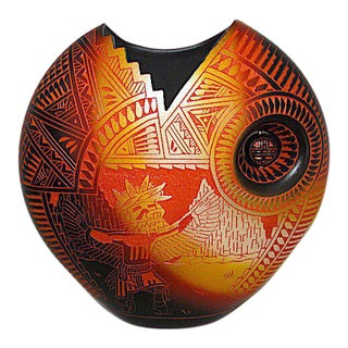 Laguna Pueblo Diane Aragon Vase