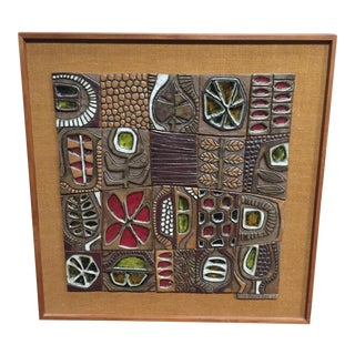 Brent Bennett Ceramic Wall Relief
